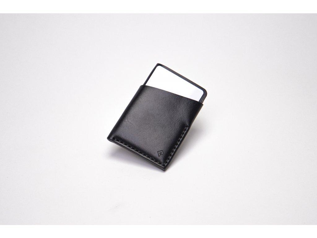 Platon peněženka na karty černá