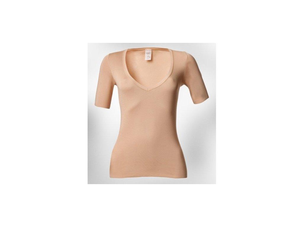Dámské tričko pod košili (Dámské velikosti triček XXS)