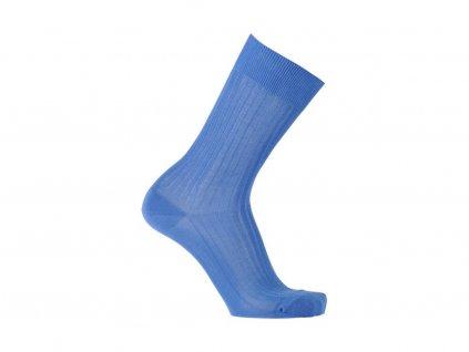Modré ponožky Bexley (Velikost pono FR 45-46, UK 11-12, US 12-13)