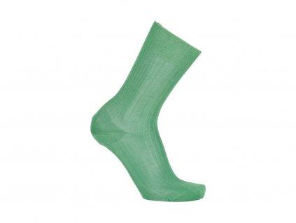 Zelené ponožky Bexley (Velikost pono FR 45-46, UK 11-12, US 12-13)