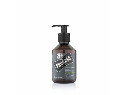2501 proraso sampon na vousy cypress and vetyver 200 ml