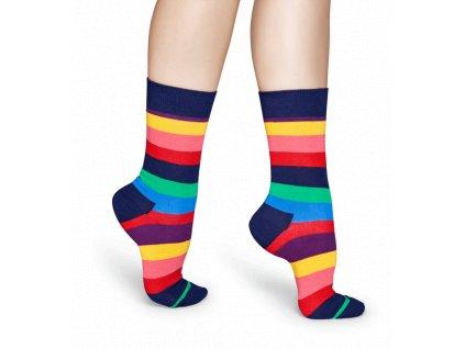 STRIPE SOCK barevné ponožky Happy Socks