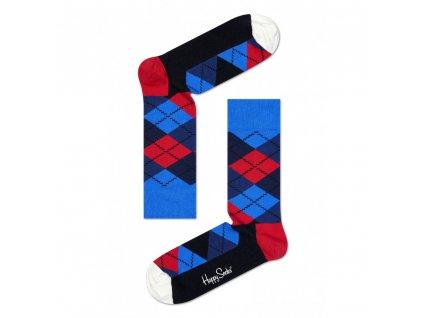 ARGYLE SOCK BWR barevné ponožky Happy Socks