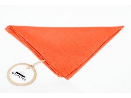 2841 oranzovy kapesnicek do saka