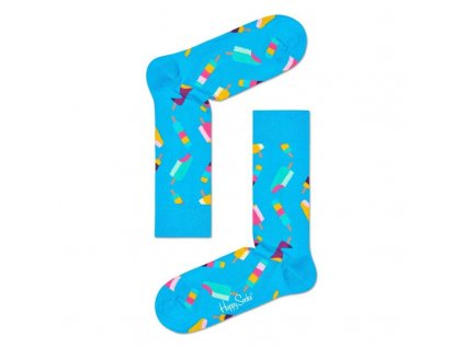 ICE CREAM barevné ponožky Happy Socks (Velikost 41-46)
