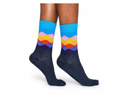 barevné ponožky happy socks fad01 9003 2