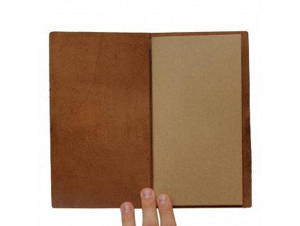 Traveler's Notebook - hnědý