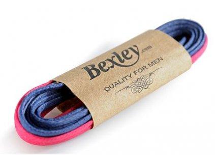 Ploché tkaničky do bot 75 cm RP (Barva Modrá, Balení 1 pár)