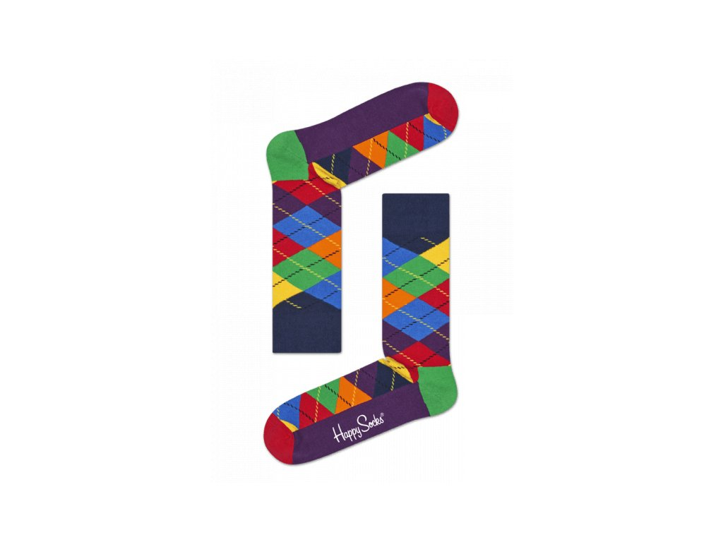 ARGYLE SOCK barevné ponožky Happy Socks