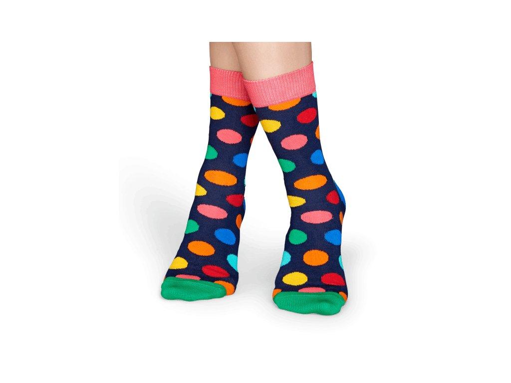 BIG DOT SOCK barevné ponožky Happy Socks (Velikost 41-46)