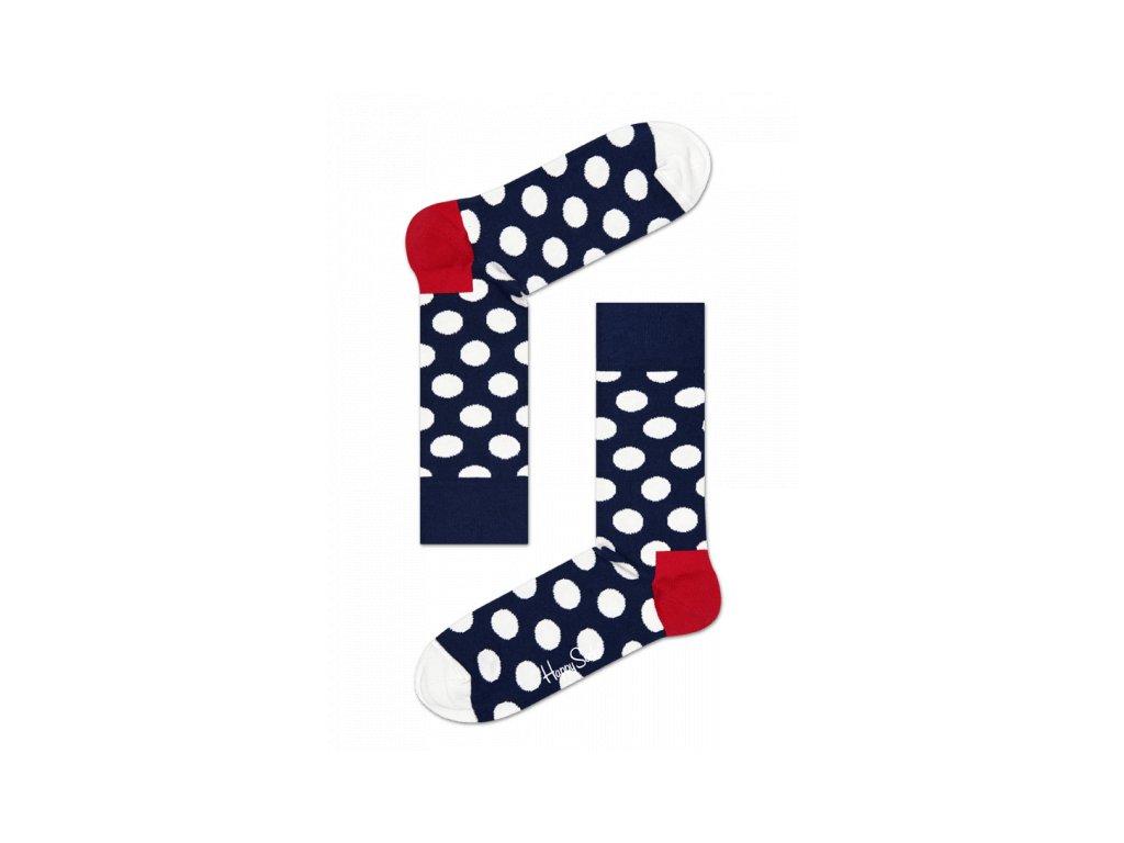 BIG DOT SOCK BWR barevné ponožky Happy Socks