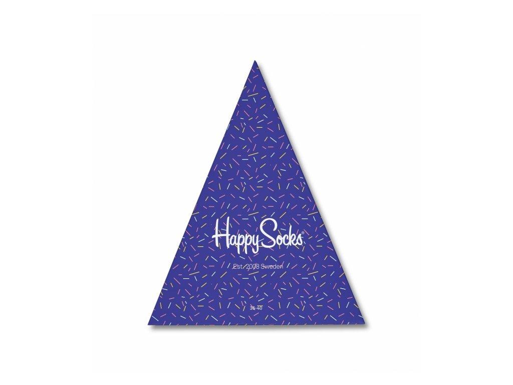 Dárková krabička 3 páry Happy Socks - Happy Birthday (XBDA08-6001) (Velikost 41-46)