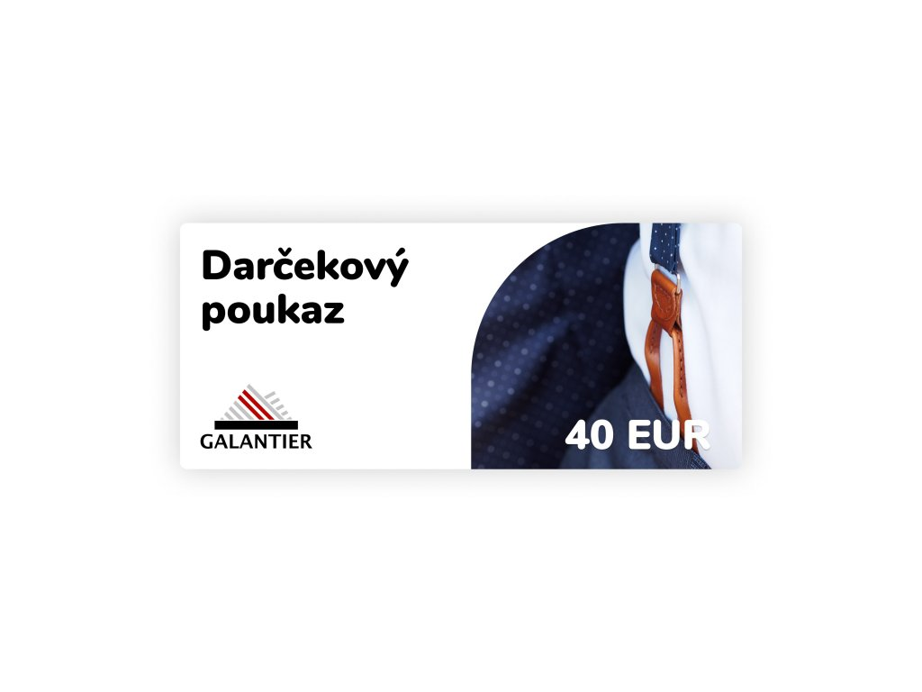 Poukaz 40 eur