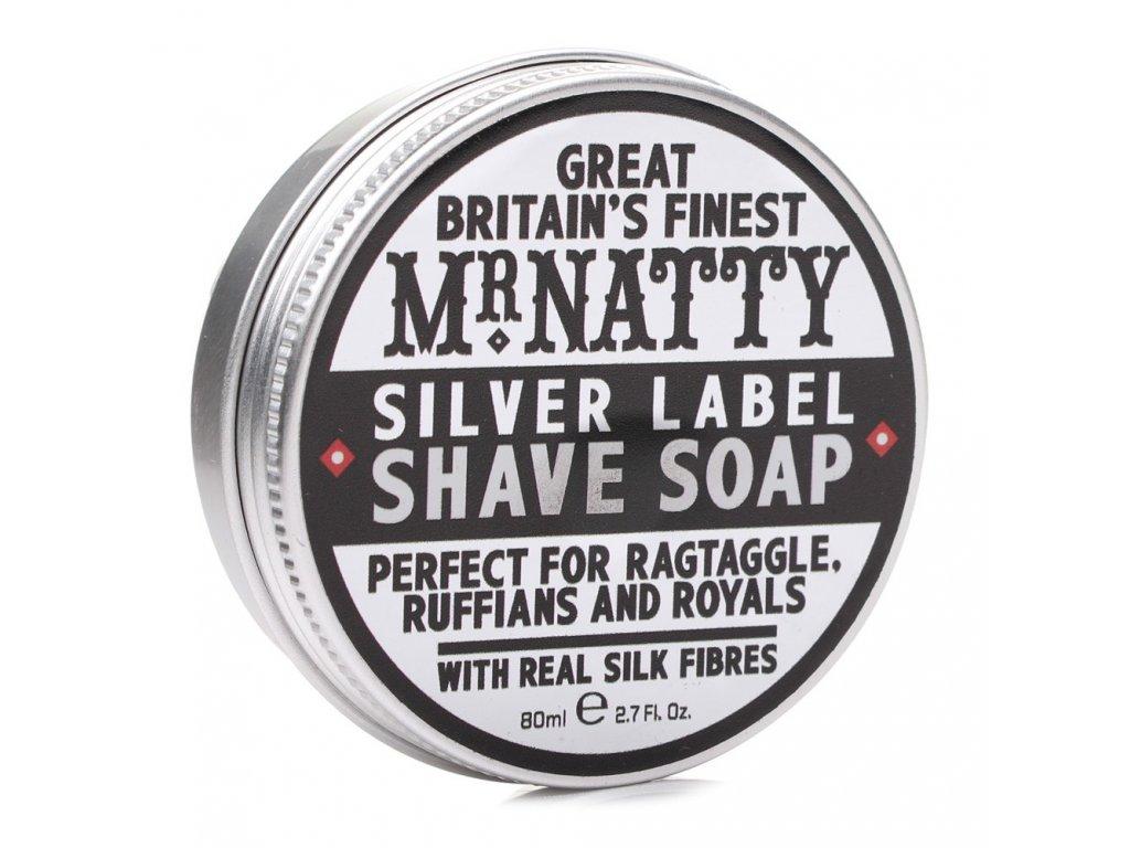 2321 mr natty silver label mydlo na holeni