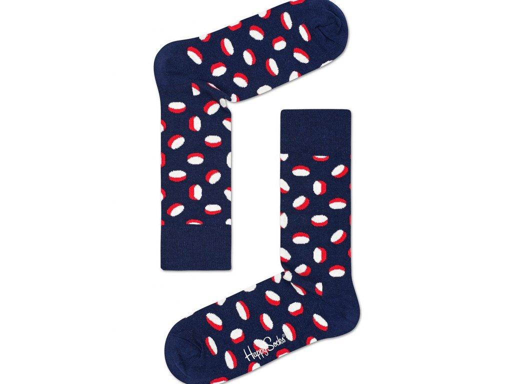 Pilulky - barevné ponožky Happy Socks (PIL01-6000) (Velikost ponožek 36-40)