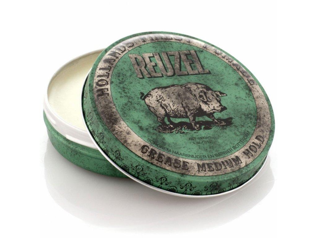 2060 pomada na vlasy green grease medium hold piglet