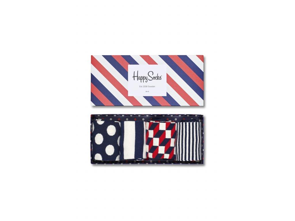 Sada ponožek Happy Socks (XBDO09-6000) (Velikost ponožek 36-40)