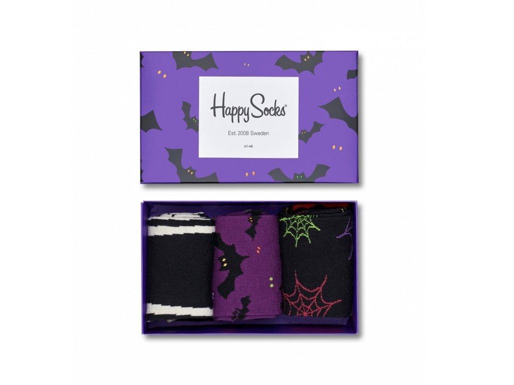 Sada ponožek Happy Socks (XHAL08-9001) (Velikost ponožek 36-40)