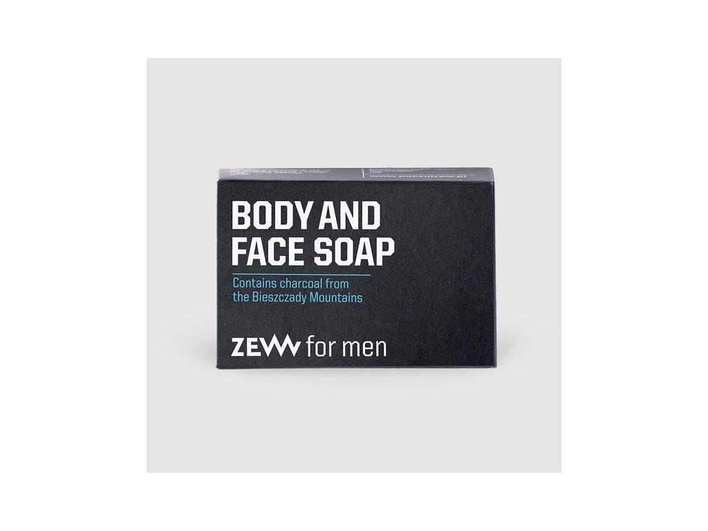 Zew for men mýdlo na tělo a tvář 85 ml