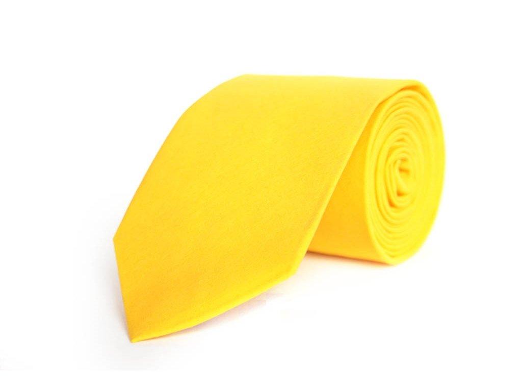 2339 zluta kravata