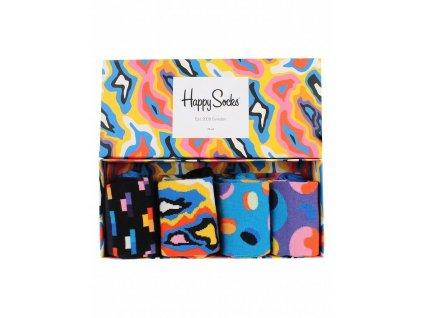 Dárková sada barevných ponožek (XPOP09-6001) (Velikost 41-46)