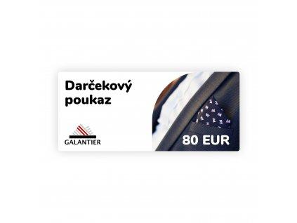 Poukaz 80 eur