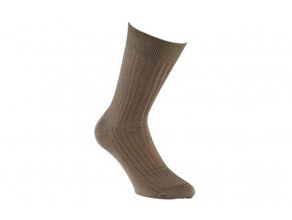 Hnědé ponožky Bexley (Velikost pono FR 45-46, UK 11-12, US 12-13)