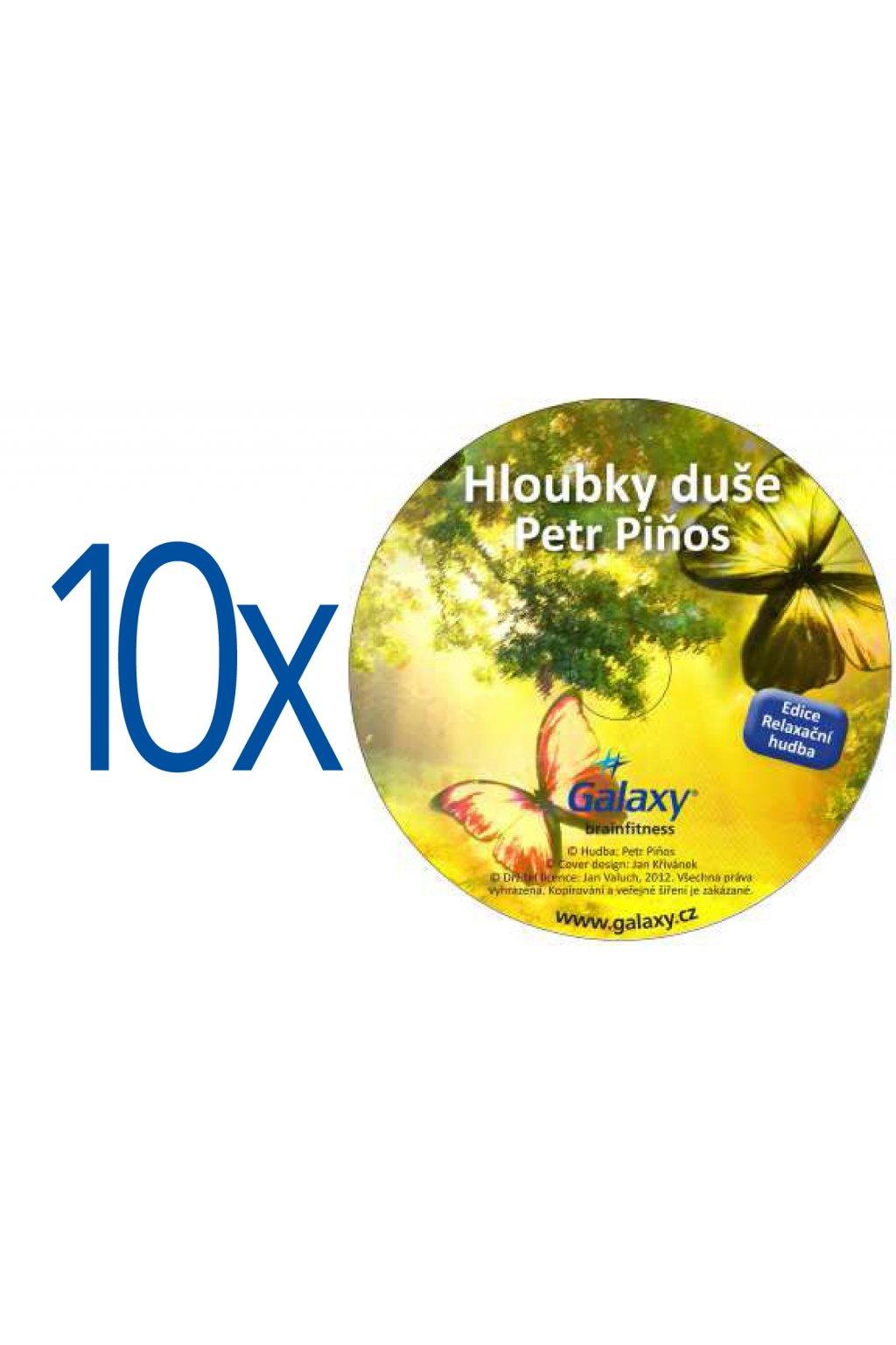 balíčky CD 10