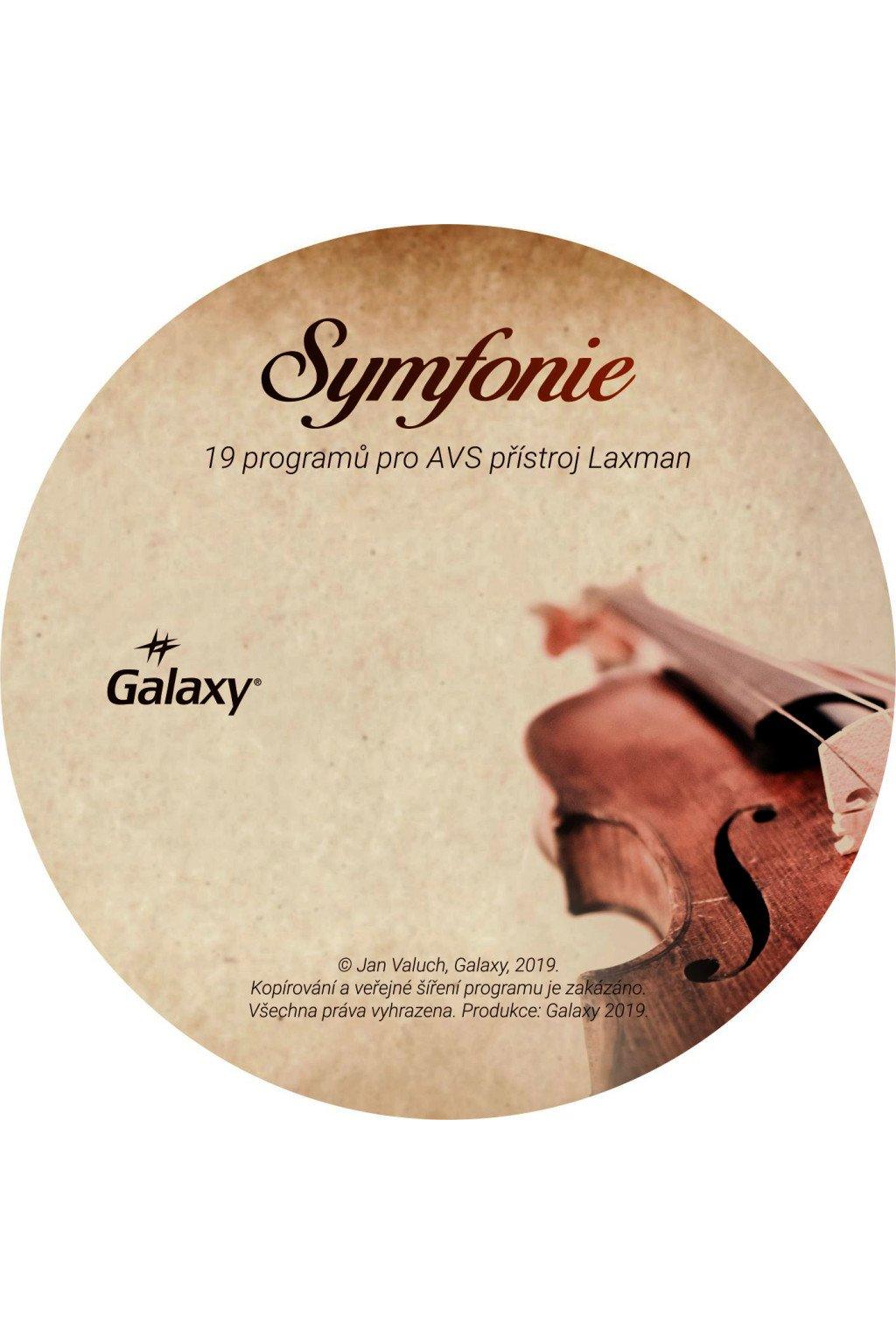 536 symfonie sada programu pro avs pristroj laxman