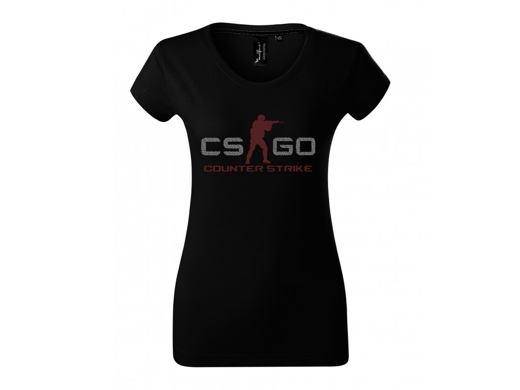 Dámské tričko CS GO Counter Strike