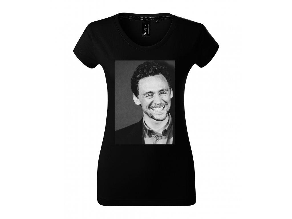 Dámské tričko Tom hiddleston Loki Avengers