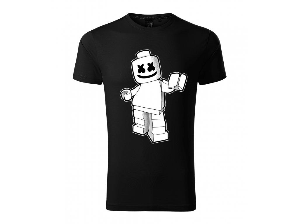 Pánské tričko marshmello Lego