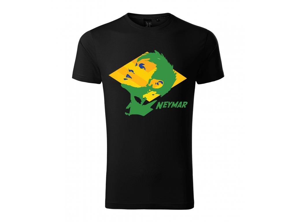 Pánské tričko neymar brazílie