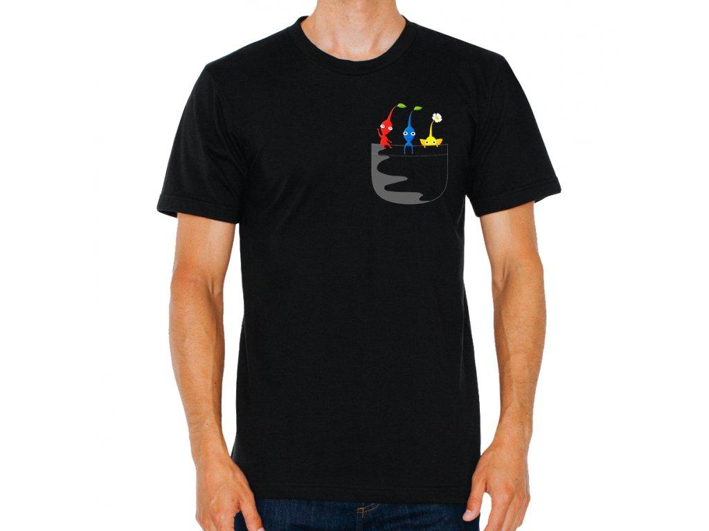 Pánské tričko Pikmin kapsička