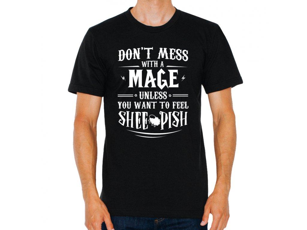 Pánské tričko Warcraft nezahrávejte si s mágem