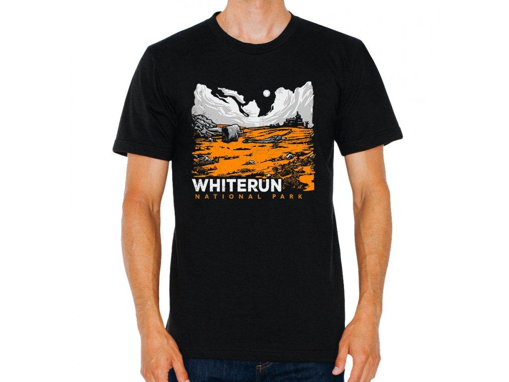 Pánské tričko Skyrim