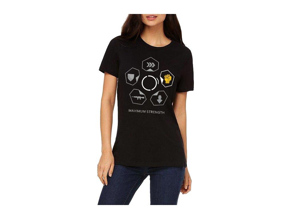 Dámské tričko Crysis Maximální síla