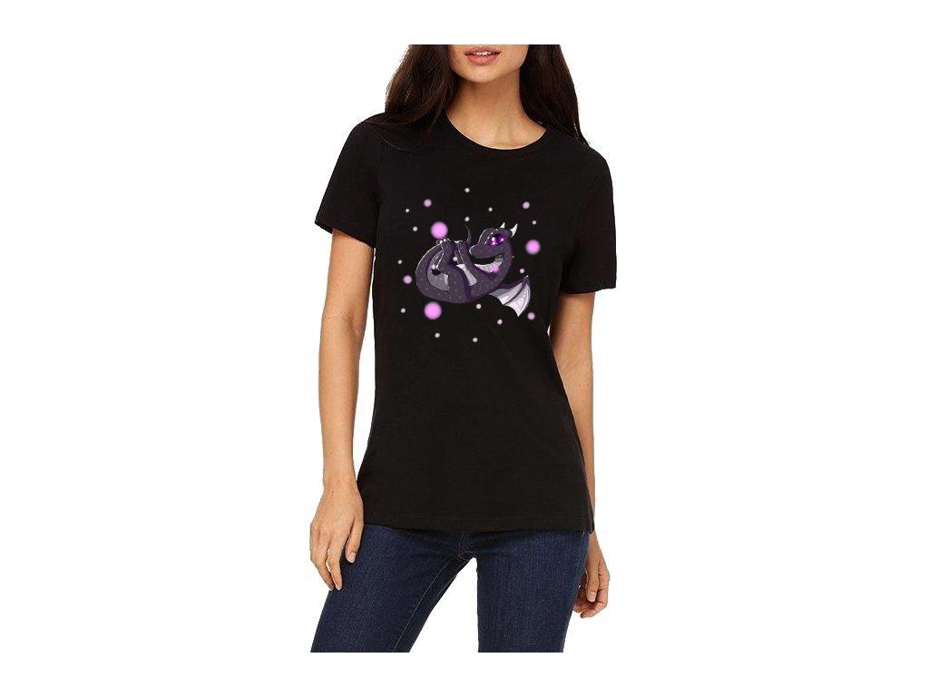 dámské tričko minecraft Ender Dragon