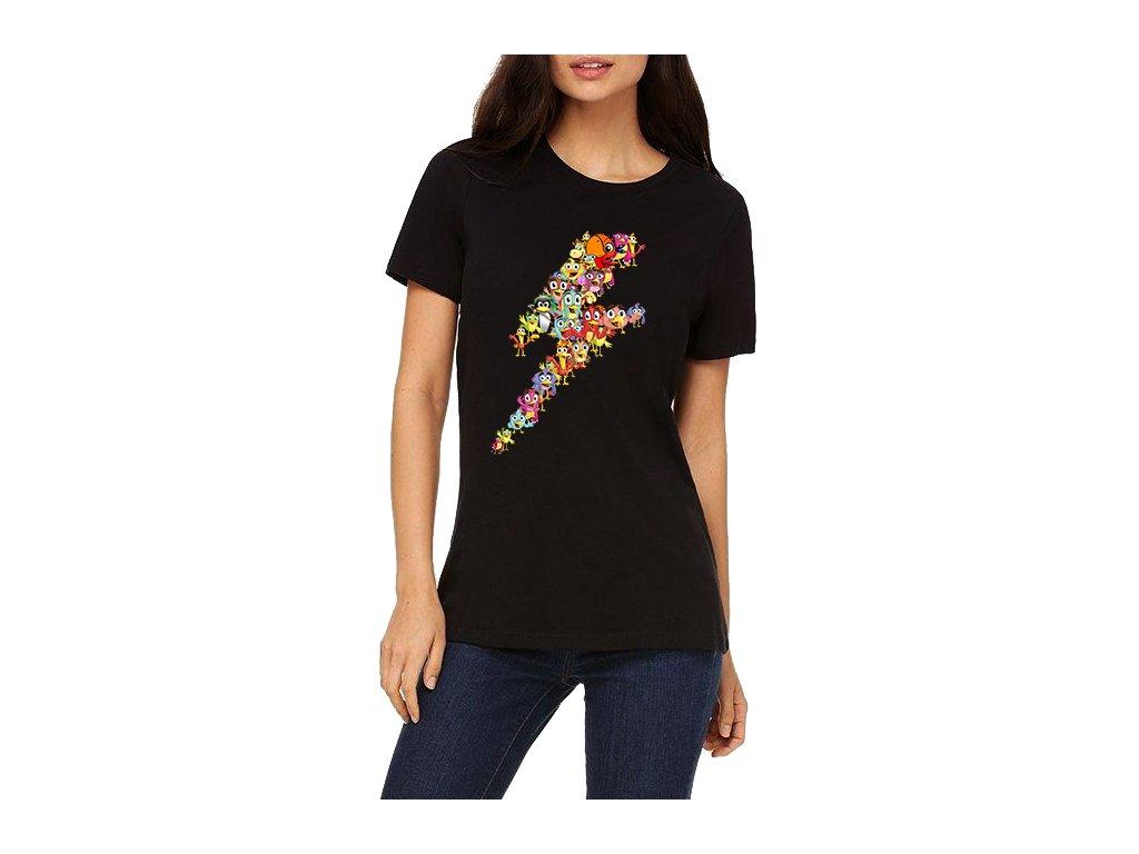 dámské tričko Angry birds