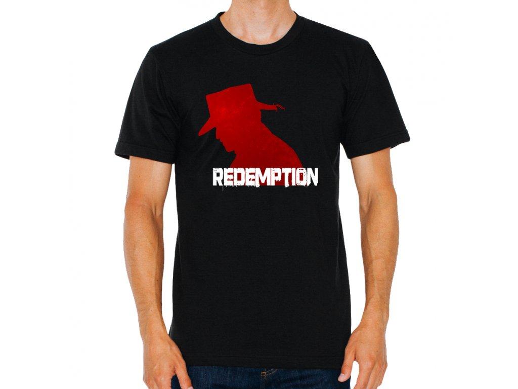 pánské tričko Red dead redemption psanec