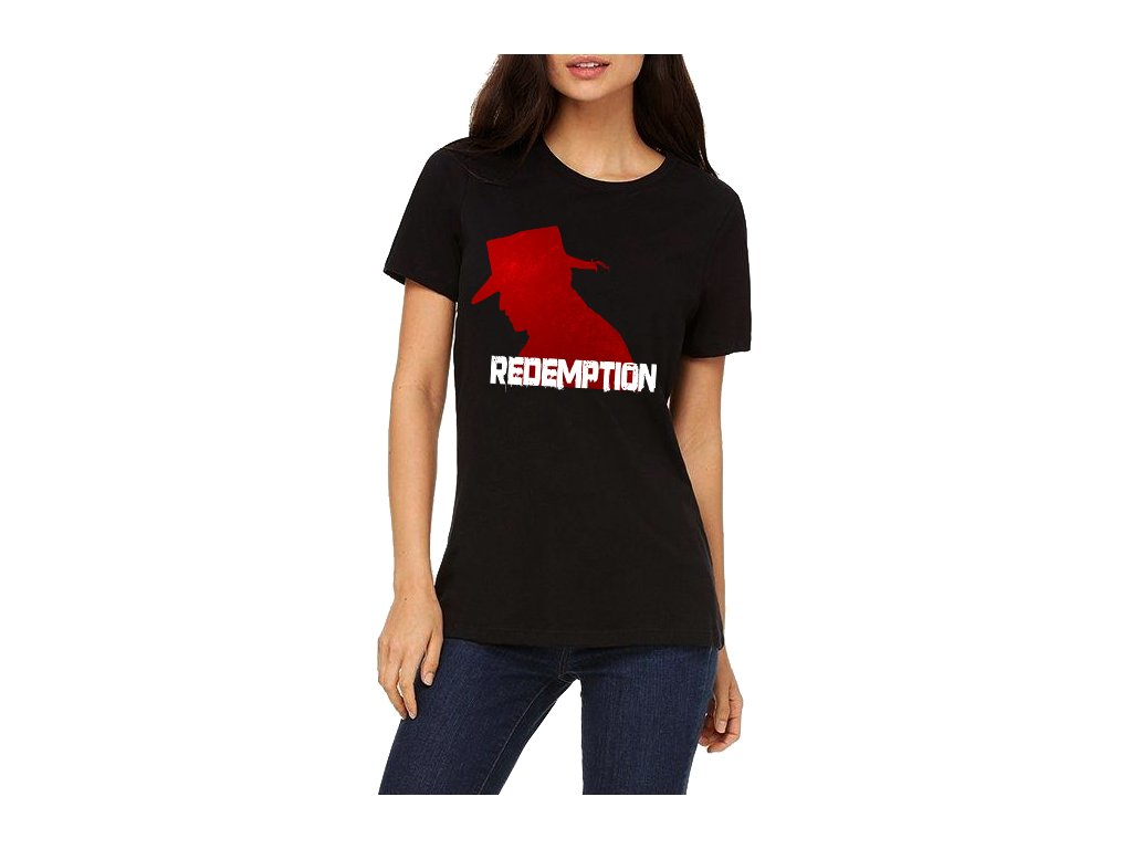 dámské tričko Red dead redemption psanec