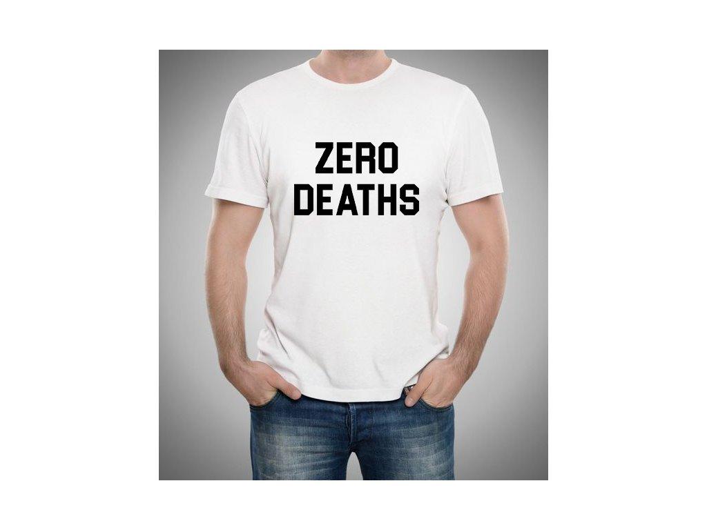 pánské tričko Pewdiepie zero deaths