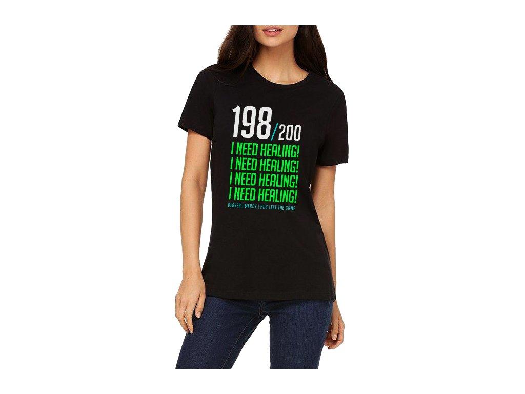 dámské tričko Overwatch potřebuji zdraví