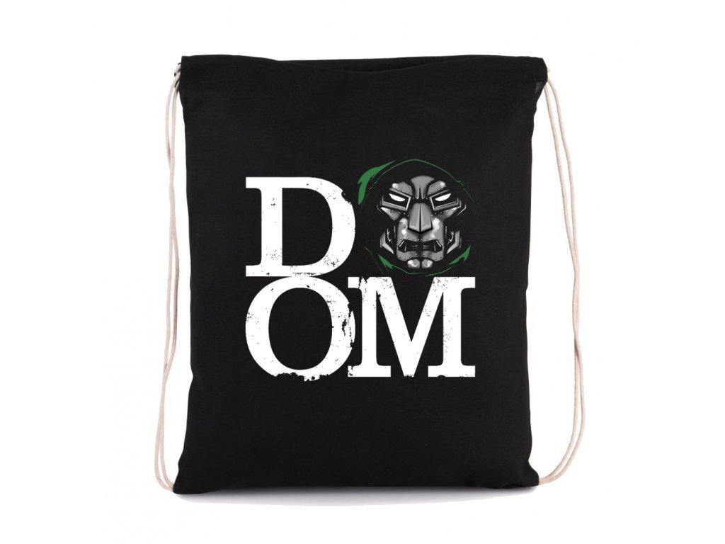 vak na záda Dr. DOOM