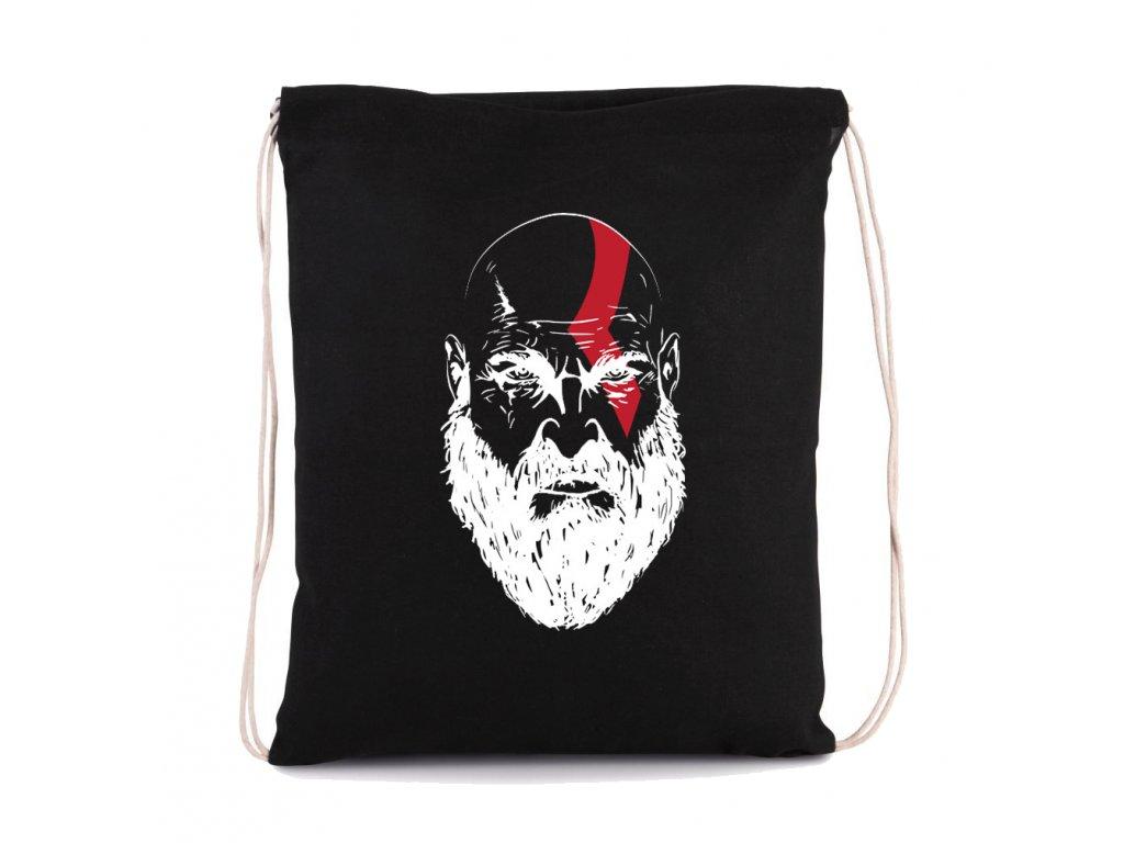 vak na záda God of War Kratos