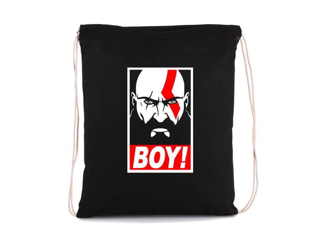 vak na záda God of War BOY Kratos