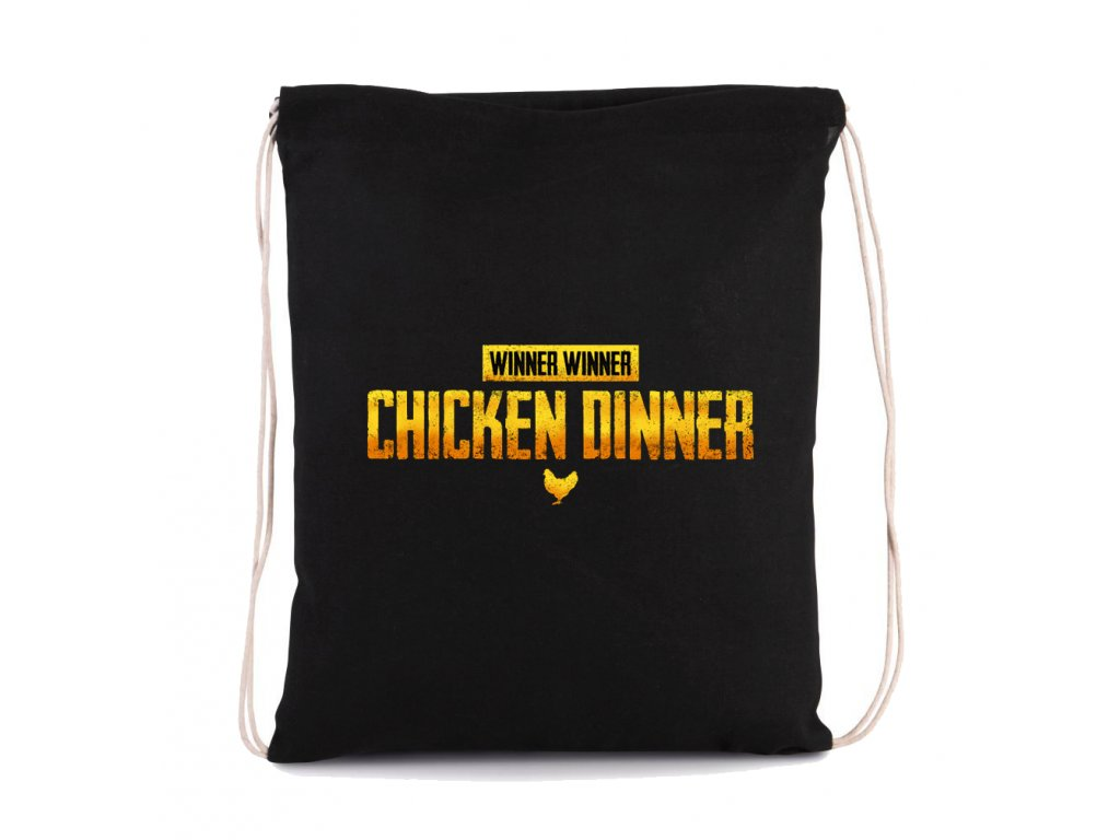 vak na záda Chicken Dinner PubG