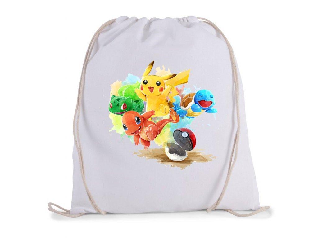 vak na záda Pokemon