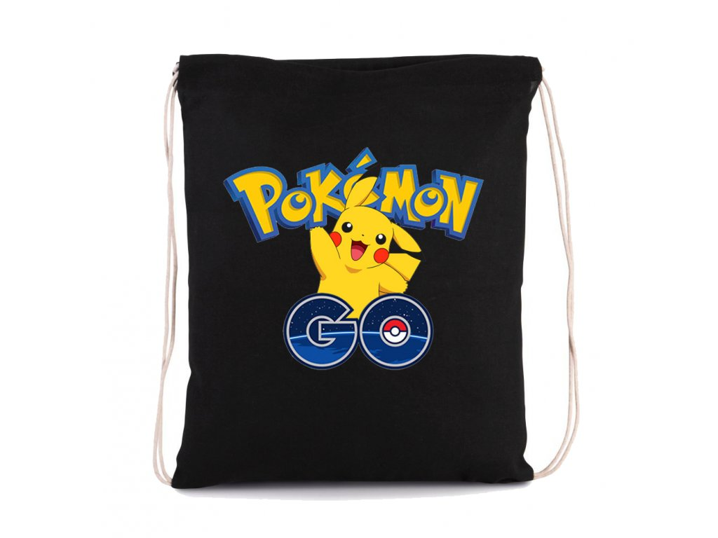 vak na záda Pokemon Go Pikachu