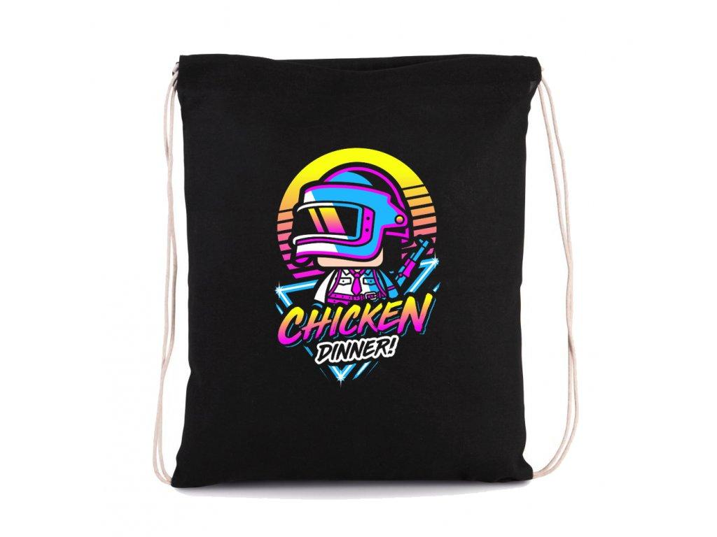 vak na záda PUBG Chicken Dinner